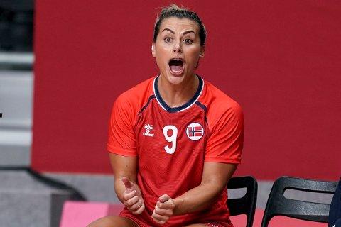 RASTE MOT DOMMERNE: Den norske stjernespilleren Nora Mørk.