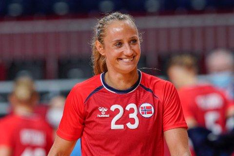 VETERAN: Camilla Herrem kan ikke garantere at hun blir å se på det norske håndballandslaget om tre år.