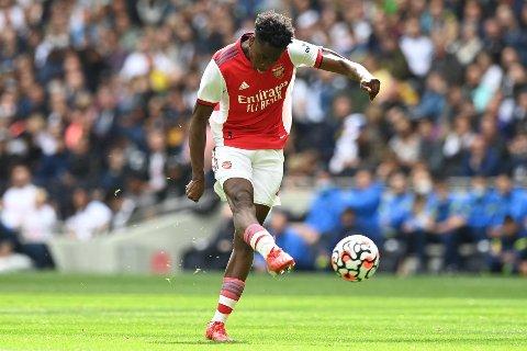 Albert Sambi Lokonga er en av de nye på Arsenal.