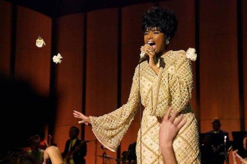 ARETHA FRANKLIN: Jennifer Hudson gjør en fenomenal rolle som Aretha Franklin:Foto:Quantrell D Colbert