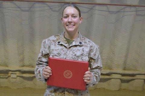 Sersjant Nicole Gee (23) omkom i angrepet i Kabul torsdag.