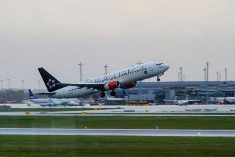 SAS melder om økte passasjertall for august, sammenlignet med samme periode i fjor. Foto: Berit Roald / NTB