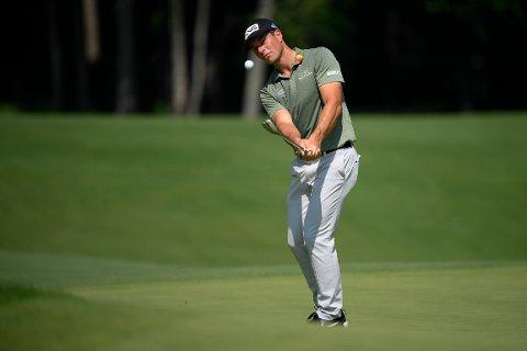 Viktor Hovland rangeres som den 13. beste golfspilleren i verden. Foto: Nick Wass / AP / NTB
