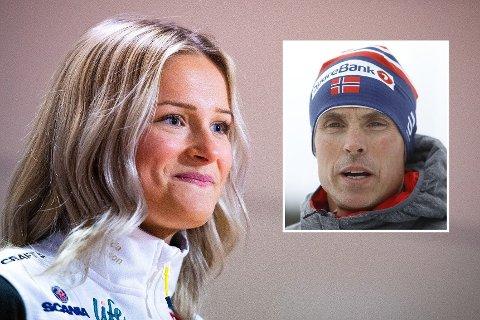 SLÅR TILBAKE: Frida Karlsson ler når hun får høre om uttalelsene fra Vidar Løfshus.