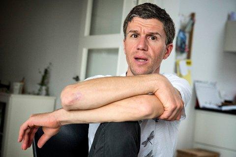 Den tidligere toppsyklisten Chris Anker Sørensen omkom i en ulykke i Belgia lørdag. Foto: Nils Meilvang / Ritzau Scanpix / NTB