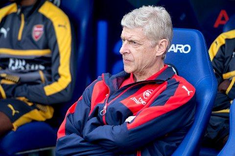 Arsène Wenger i 2016, da han var manager for Arsenal. Foto: Carina Johansen / NTB