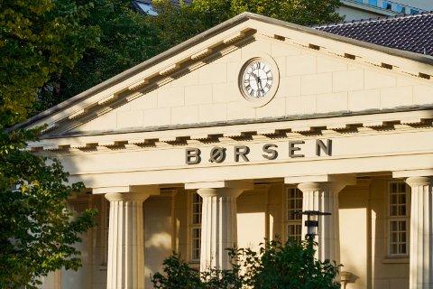 Oslo Børs startet med nedgang fredag. Foto: Erik Johansen / NTB