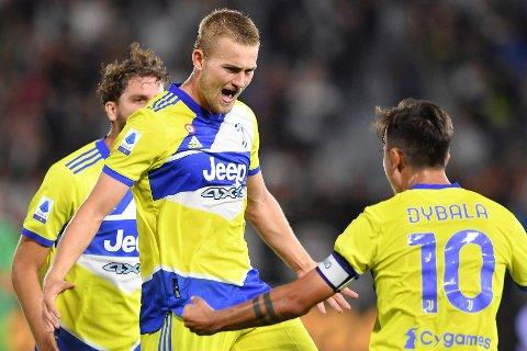 OPPTUR: Etter en svak sesongstart fikk Juventus og Matthijs de Ligt endelig noe å feire igjen mot Spezia tidligere denne uka. Kan nederlenderen være på vei bort fra Serie A-giganten?