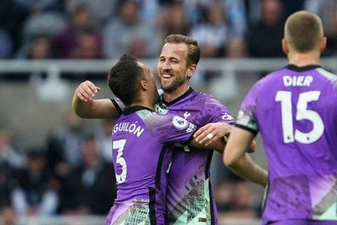 Harry Kane åpne målkontoen i Premier League med sin scoring mot Newcastle sist søndag.