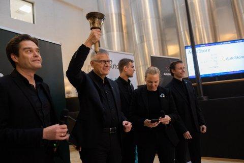 BØRS: Toppsjef Karl Johan Lier sier til Nettavisen at børsnoteringen er en merkedag for selskapet.