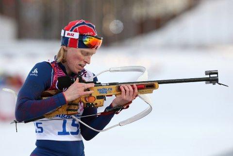 HELSVART DAG: Tora Berger var ikke i nærheten av pallen på kvinnenes 20-kilometer.