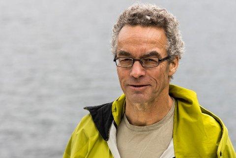 ÅR 2050: - Det er et interessant årstall. Det er målstreken for all verdens klimaprognoser, sier Rasmus Hansson fra Miljøpartiet De Grønne.