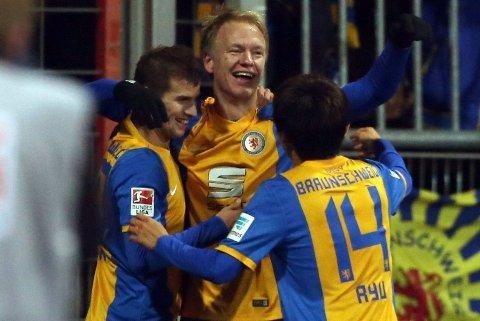 BRENNHET: Håvard Nielsen har nettet tre mål påd e to siste ligakampene.