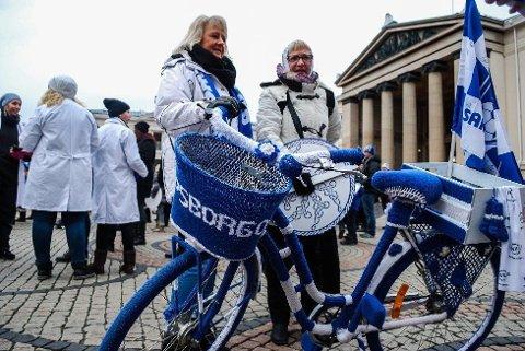 HJEMMESTRIKKET: Selvgjort er velgjort, er det noe som heter. Det kan man absolutt si om denne sykkelen.