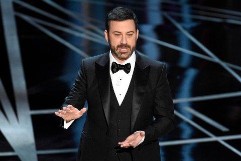 OSCAR-VERTEN Jimmy Kimmel holdt Trump-vitsene på et elegant nivå.