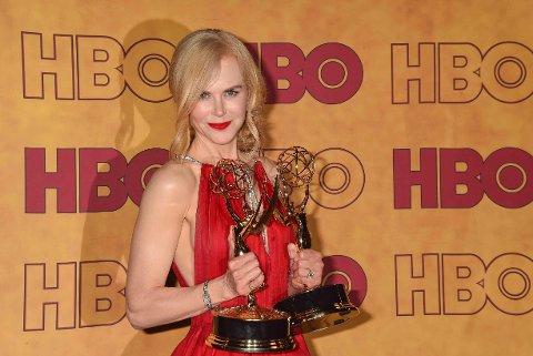 Nicole Kidman under Emmy Awards 17.september.