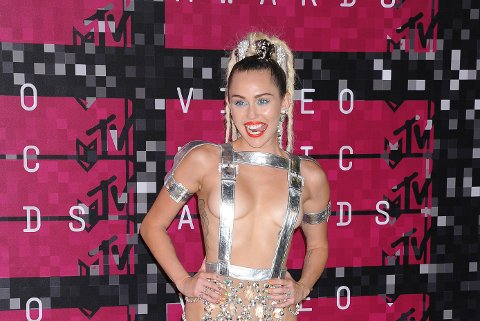 Miley Cyrus under MTV Video Music Awards 2015.