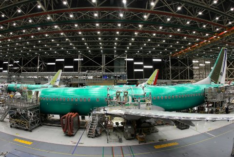 Boeing setter av 52 milliarder kroner som erstatning til blant annet kunder som Norwegian. Illustrasjonsfoto: Boeing-modellen 737 MAX 8.