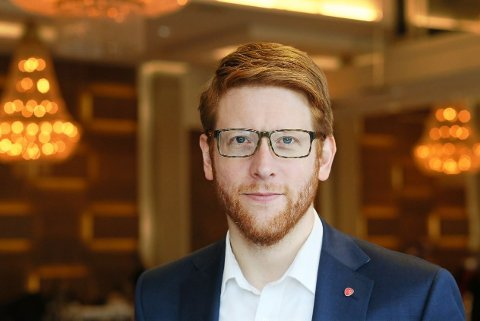 Martin Henriksen. Foto: Bent Sønvisen/Arbeiderpartiet
