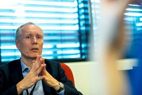 NEDGANG: UDI-direktør Frode Forfang registrerer igjen nedgang i antallet som søker asyl i Norge.