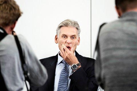 SAKSØKT: Danske Banks tidligere toppsjef Thomas Borgen.