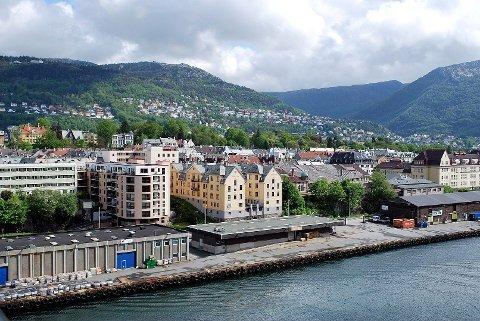 OPPKALT ETTER SLAVEHANDLER: Bydelen Møhlenpris i Bergen.