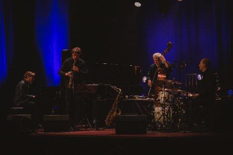 Arild Andersen Group - for et band! Foto: Line Rakvåg Malones