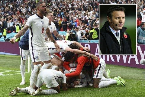 REAGERER: Fotballekspert Craig Burley mener det er urettferdig at England har fått spille så mange kamper på hjemmebane.