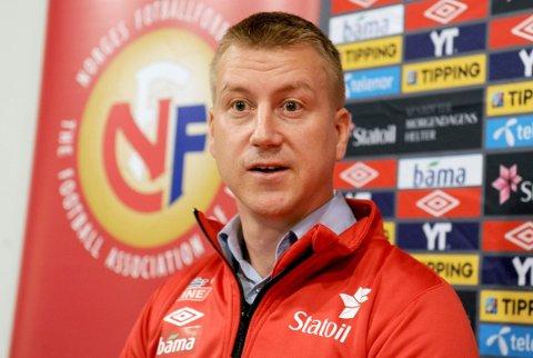 NY JOBB: Leif Gunnar Smerud skal lede det norske U21-landslaget.
