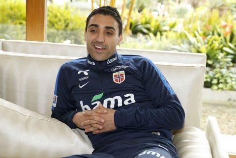 SKADEFRI: Mohammed Abdellaoue er tilbake for det norske landslaget.