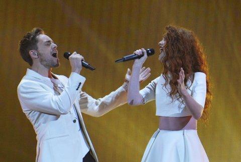 DRAMATISK: Det oppsto sterke følelser da den norske duoen sto på scena.