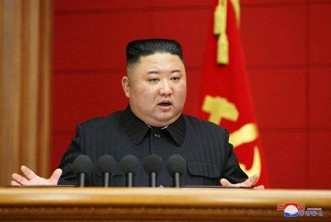 SVARER IKKE: Nord-Korea svarer ikke på gjentatte forsøk fra USA på å oppnå kontakt i kulissene, ifølge nyhetsbyrået Reuters. Foto: KCNA / Korea News Service via AP / NTB Foto: (NTB scanpix)