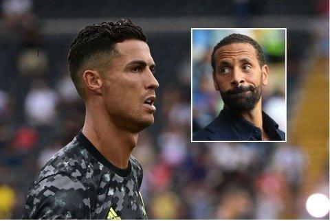 KLART ØNSKE: Rio Ferdinand hadde ikke taklet å se Cristiano Ronaldo i Manchester City-drakt.