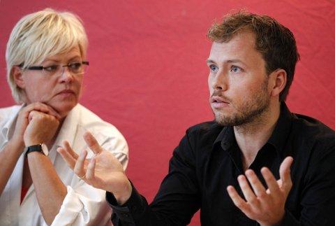 Kristin Halvorsen og Audun Lysbakken