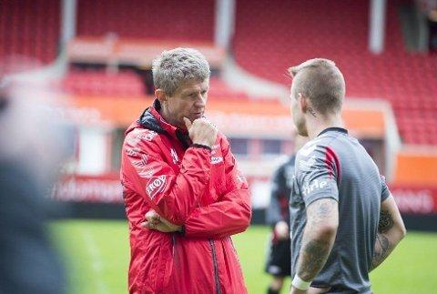 FØRSTE KAMP: Lars Arne Nilsen leder Brann mot Follo mandag.