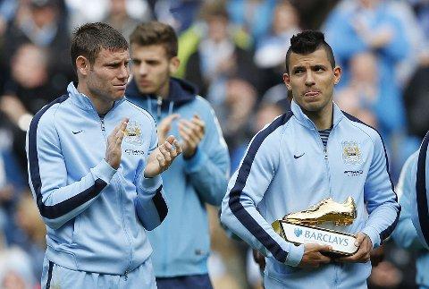 VELGER LIVERPOOL: Manchester Citys James Milner.
