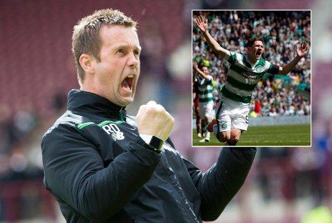 STORSEIER: Ronny Deila takket av med 7-0-seier i sin siste kamp med Celtic.