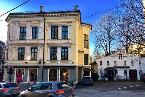 NABOKRANGEL: En tinglyst adkomstrett fra 1950-tallet i Hegdehaugsveien ble nylig behandlet i Oslo tingrett.