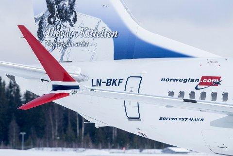 SATT PÅ BAKKEN: 18 av Norwegians 163 fly er Boeing 737 MAX 8, flytypen som er satt på bakken.