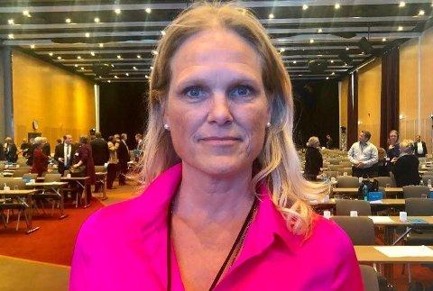 Samfunnssikkerhetsminister Ingvil Smines Tybring‐Gjedde (Frp) sier hun aldri har opplevd å bli bremset fordi hun er kvinne.