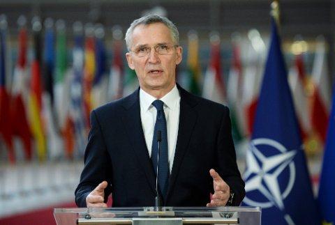 Jens Stoltenberg og Nato har fortsatt bred støtte blant befolkningen i medlemslandene, men det siste året har endret hva de er mest bekymret for. Arkivfoto: Johanna Geron / AP / NTB