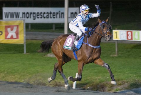 Christina A. Hande er aktuell i dagens V65-omgang. Foto: Anders Kongsrud/www.hesteguiden.com.