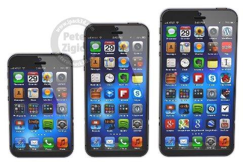 iPhone 6 i tre utgaver - med tre forskjellige oppløsninger?