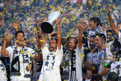 MESTERLAG: Los Angeles Galaxy gikk til topps i MLS.