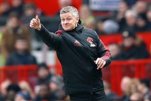 SNAKKET OM POCHETTINO: Manchester United-sjef Ole Gunnar Solskjær.