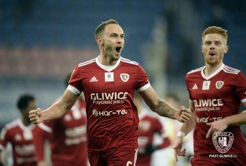 Tom Hateley er en av kun tre engelskmenn som har spilt i Ekstraklasa. Foto:piast-gliwice.eu