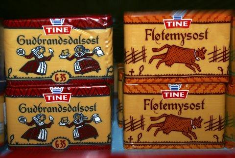 Årsvolumet av Gudbrandsdalosten fra Tine har steget under pandemien. Foto: NTB