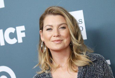 FERDIG?: Ellen Pompeo hinter om at rollen «Meredith Grey» kanskje blir hennes siste.