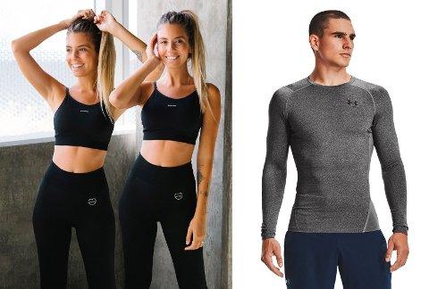 Nå finner du treningsklær til både han og henne til ekstra gode priser, i tillegg til at du kan gjøre et kupp på utstyr som tredemøller og vekter.