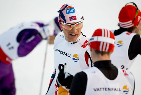SØLV: håvard Klemetsen og Norge tok sølv.